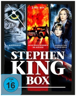 Stephen-King-Horror-Collection (3 Blu-rays)