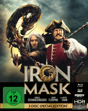 Iron Mask (Special Edition, UHD, 3D-Blu-ray, Blu-ray)