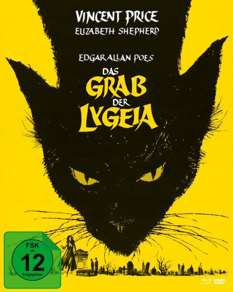 Das Grab der Lygeia (Mediabook, Blu-ray+DVD) (Version A)