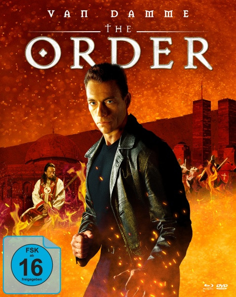 The Order (Mediabook, Blu-ray + DVD) (Cover A)