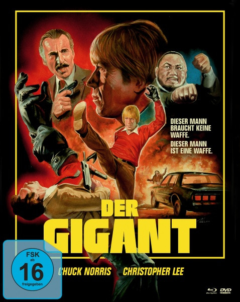 Der Gigant - An Eye for an Eye (Mediabook A, Blu-ray + DVD)