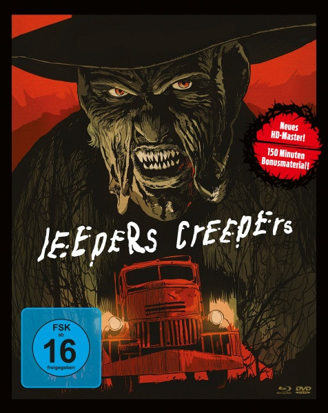 Jeepers Creepers (Mediabook, 1 Blu-ray + 2 DVDs)