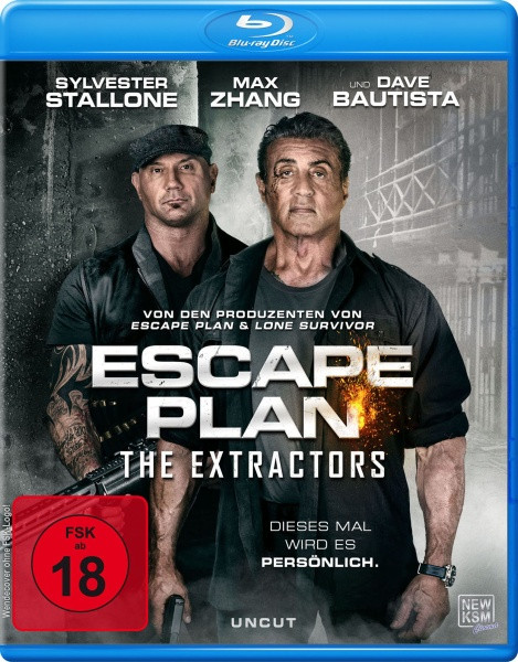 Escape Plan - The Extractors (Blu-ray)