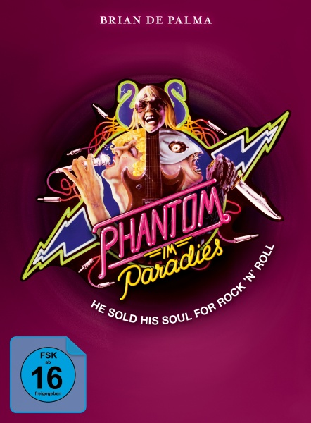Phantom im Paradies - Phantom of the Paradise (Mediabook, Blu-ray+DVD) (Version A)