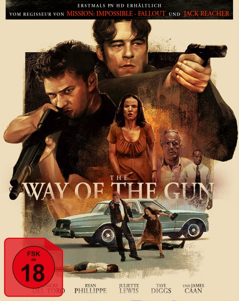 The Way of the Gun (Mediabook, Blu-ray + DVD) (Cover B)