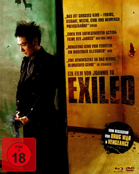 Exiled (Mediabook, Blu-ray + DVD)