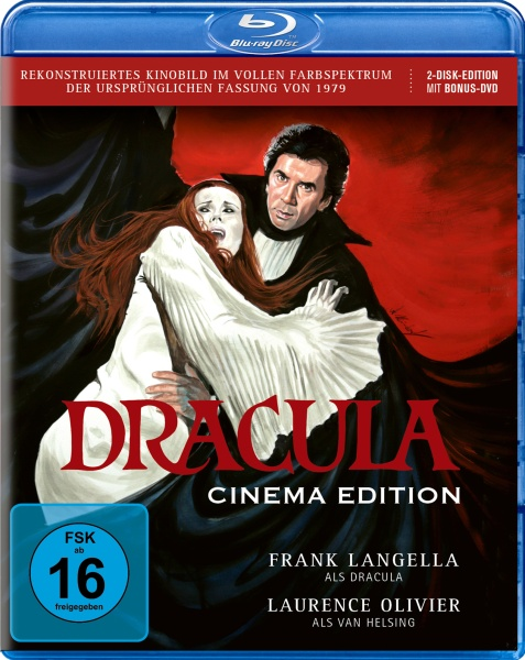 Dracula (1979) - Cinema Edition (2 Blu-rays)