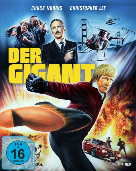 Der Gigant - An Eye for an Eye (Mediabook B, Blu-ray + DVD)