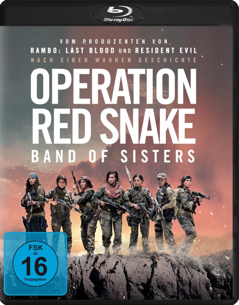 Operation Red Snake - Band of Sisters (Blu-ray)