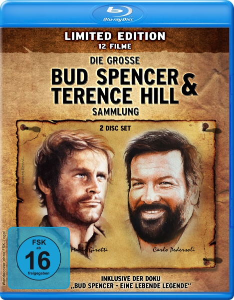 Die große Bud Spencer & Terence Hill Blu-ray Sammlung - Limited Edition (2 Blu-rays)