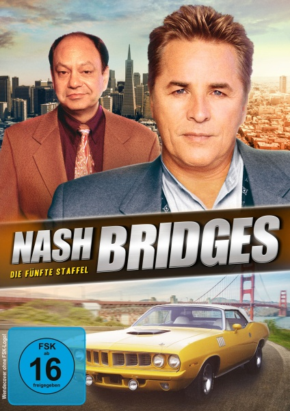 Nash Bridges - Staffel 5 - Episode 79-100 (6 DVDs)