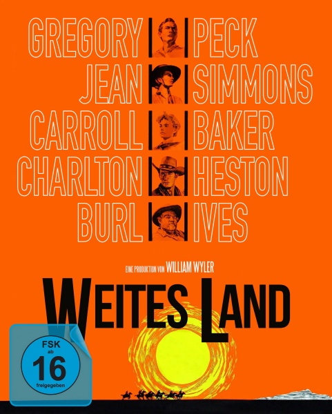 Weites Land (Special Edition, Blu-ray+2 DVDs)